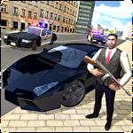 Gangster crime car simulator Symbol