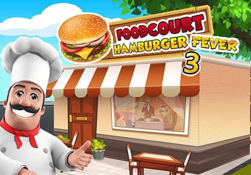 Food court fever: Hamburger 3 captura de pantalla 1
