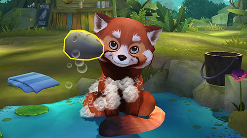Симулятори My red panda: Your lovely pet simulation для смартфону