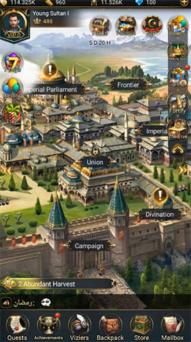 Game of sultans para Android