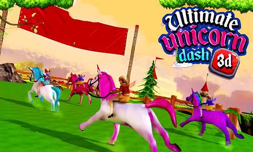 Ultimate unicorn dash 3D Screenshot