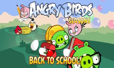 Capturas de tela de Angry Birds Seasons Back To School