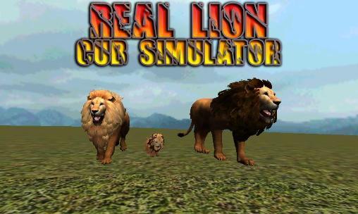 Real lion cub simulator Screenshot