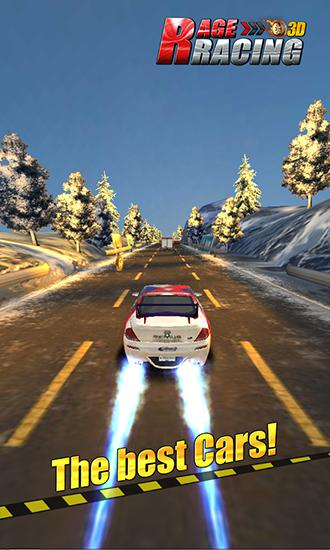 Rage racing 3D pour Android