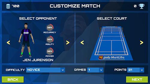 3D pro badminton challenge für Android