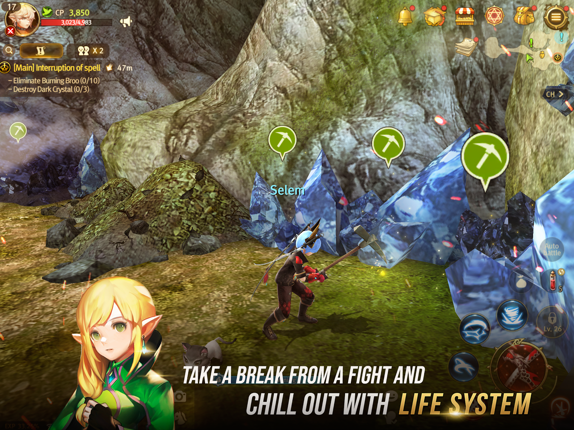 World of Dragon Nest (WoD) screenshot 1