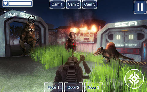 Nights at jurassic island survival pour Android