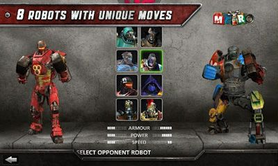 Fightings Real Steel HD for smartphone
