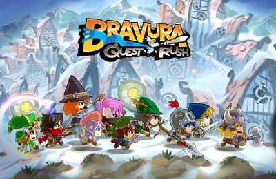 Скріншот Bravura - Quest Rush на iPhone