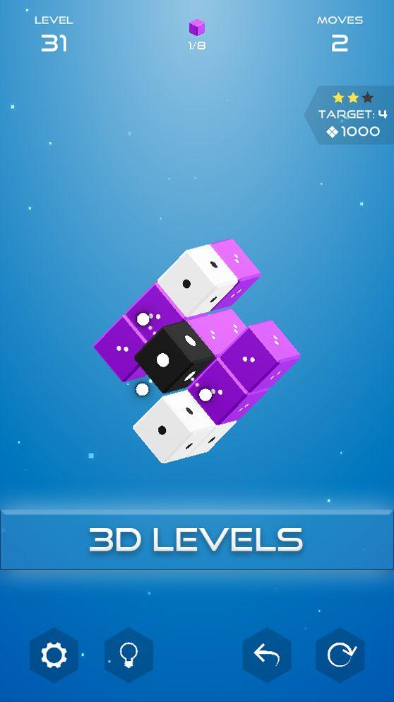 Кубия - 3D слайд-пазл для Android
