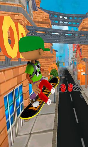 Arcade Hoverboard rush für das Smartphone