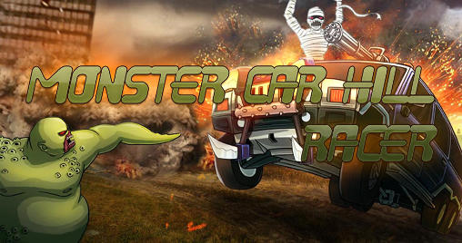 Monster car: Hill racer Screenshot