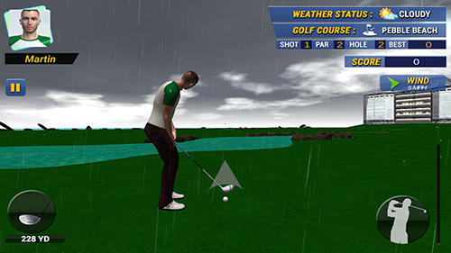 Real golf master 3D in English