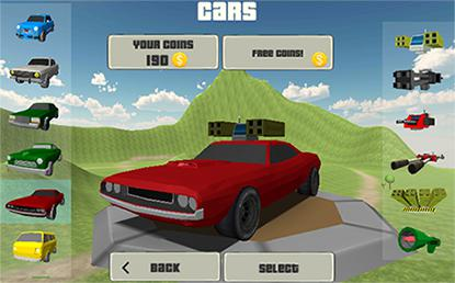 Crash arena: Cars and guns pour Android