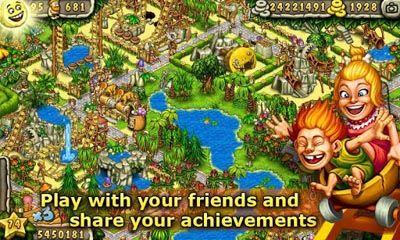 Online games Prehistoric Park for smartphone