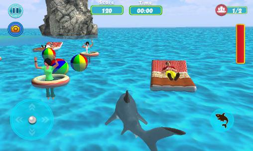 Shark shark run screenshot 4