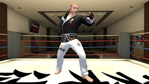 Karate fighting tiger 3D 2 Screenshot