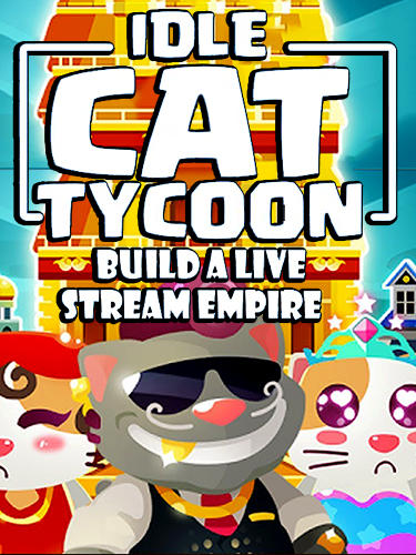 Idle cat tycoon: Build a live stream empire Screenshot