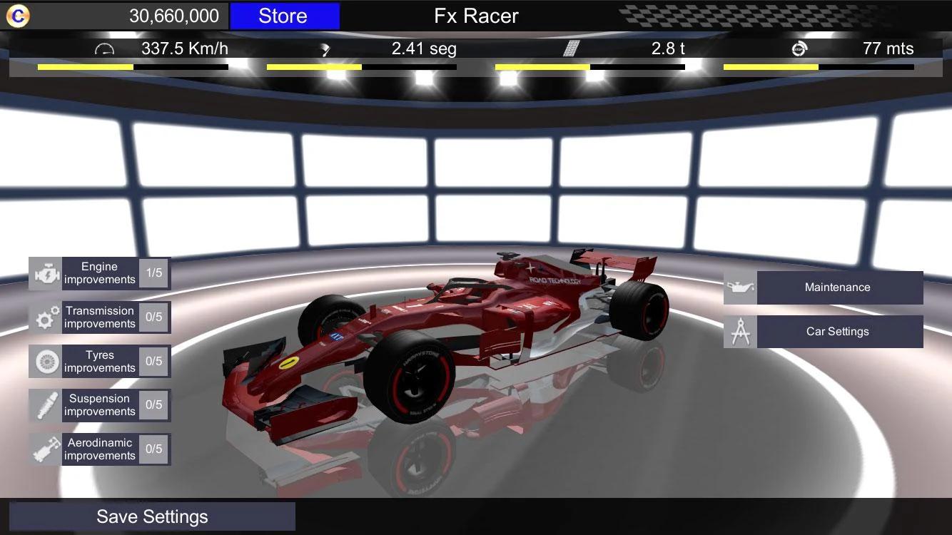 Fx Racer скріншот 1
