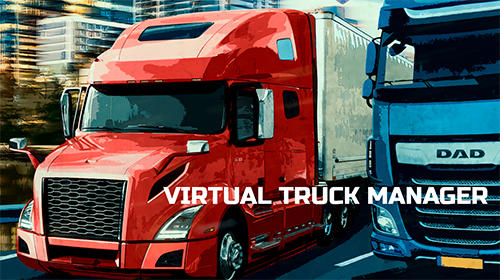 Virtual truck manager: Tycoon trucking company screenshot 1