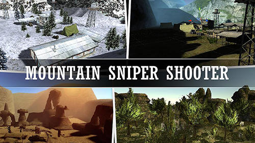 Mountain sniper shooting Screenshot