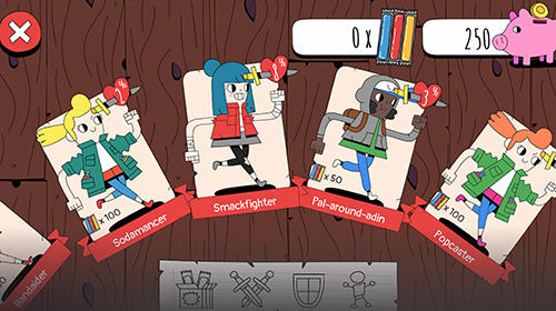 Brettspiele Knights of the card table für das Smartphone