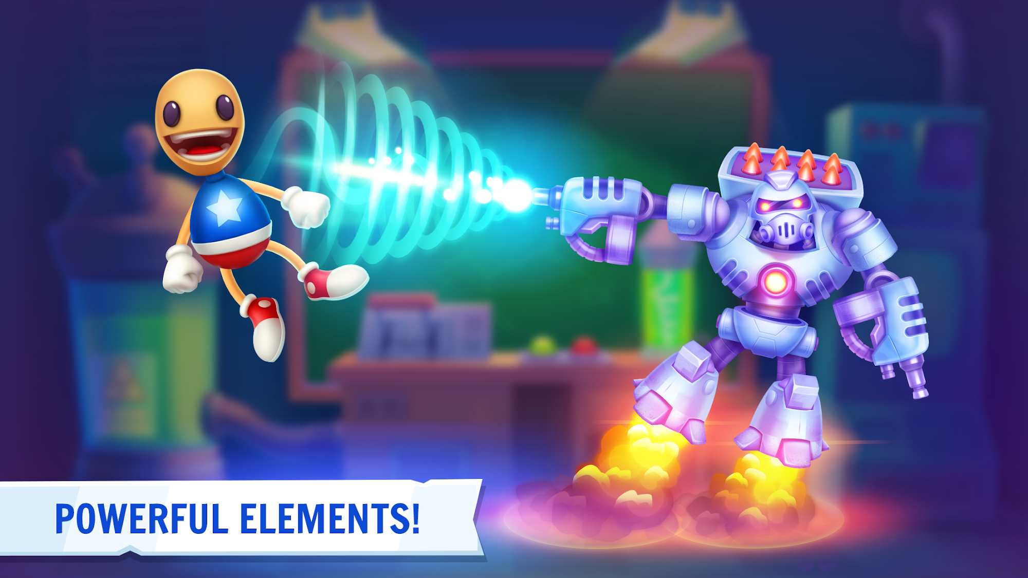 Kick the Buddy 3D for Android