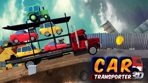 Car transporter 3D Screenshot