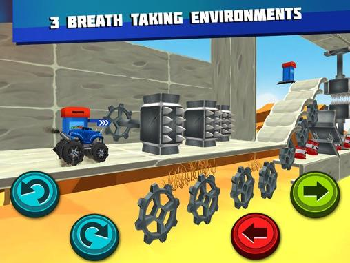Monster trucks unleashed for Android