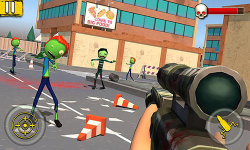 Sniper games Halloween sniper: Scary zombies in English