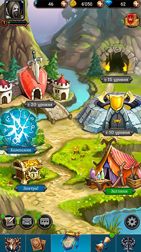 Keepers of cards and magic: RPG battle para Android