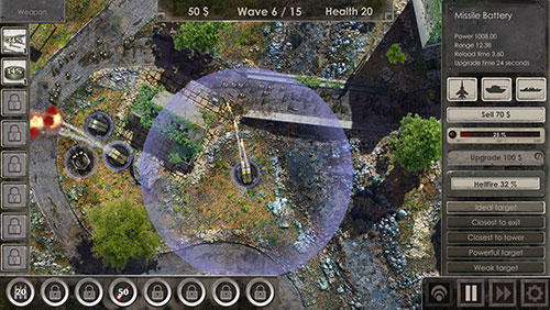 Defense zone 3 screenshot 1