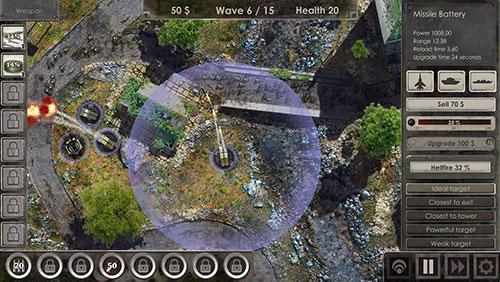 Defense zone 3 Screenshot