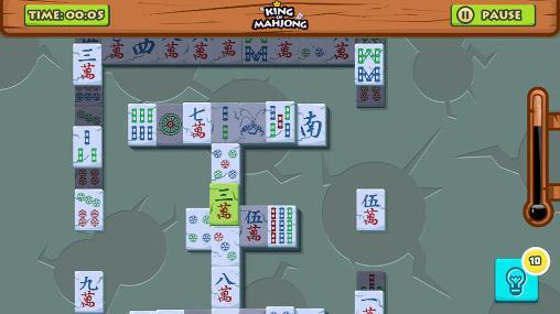 Mahjong King of mahjong solitaire: King of tiles auf Deutsch