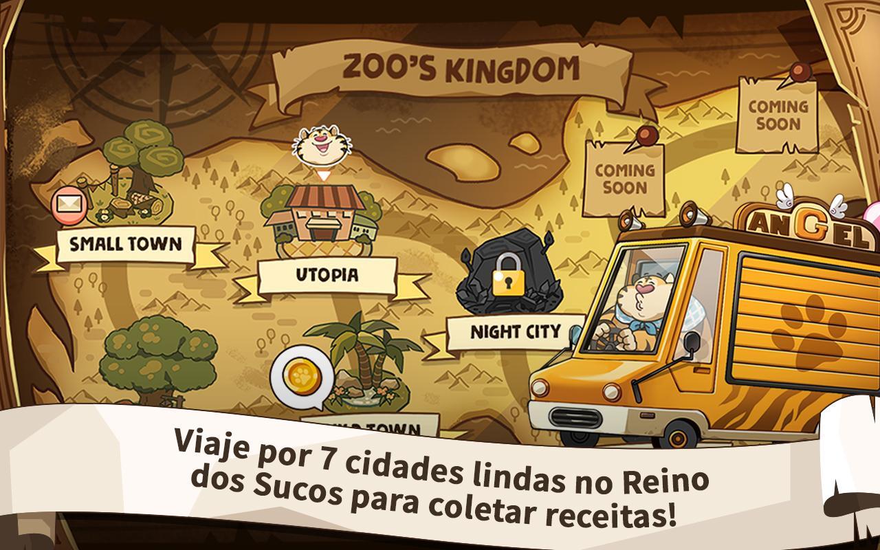 Zoo's Truck: Food Truck Tycoon captura de tela 1