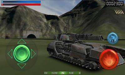 Tank Recon 3D capture d'écran