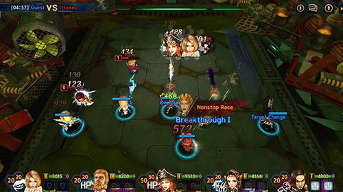 Strategie RPG Amusing heroes: Strategy RPG auf Deutsch