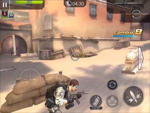 Jogos de ação Frontline commando: Rivalspara smartphone