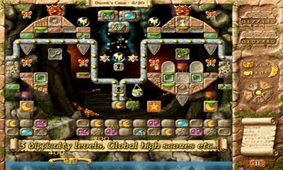Fairy Treasure Brick Breaker screenshot 1