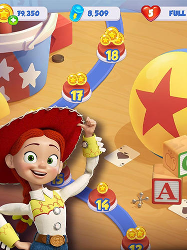 Arcade Toy story drop! You've got a friend in match-3! für das Smartphone