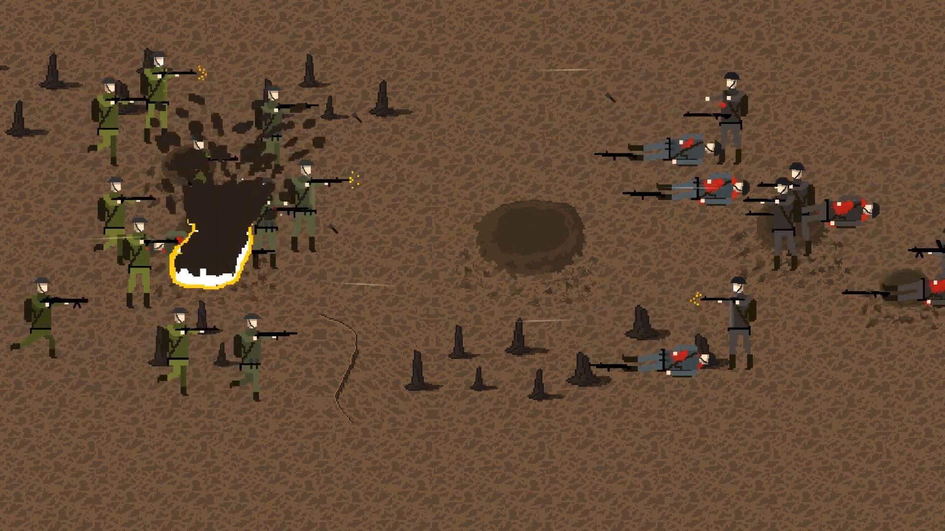 Trench Warfare 1917: WW1 Strategy Game скріншот 1