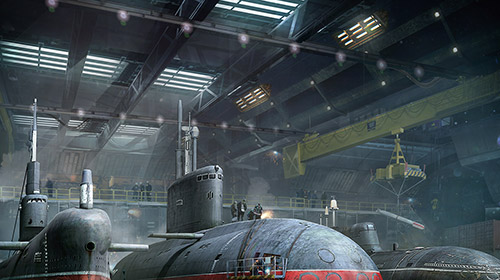 World of submarines screenshot 1