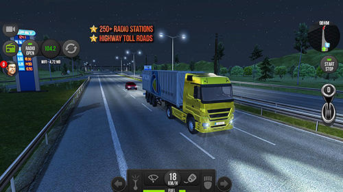 Truck simulator 2018: Europe pour Android