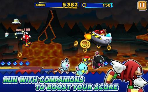 Sonic: Runners auf Deutsch