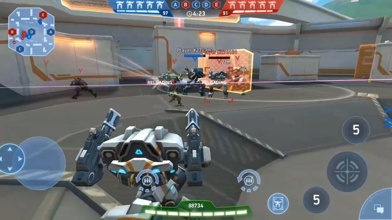 Mech Arena: Robot Showdown скриншот 1