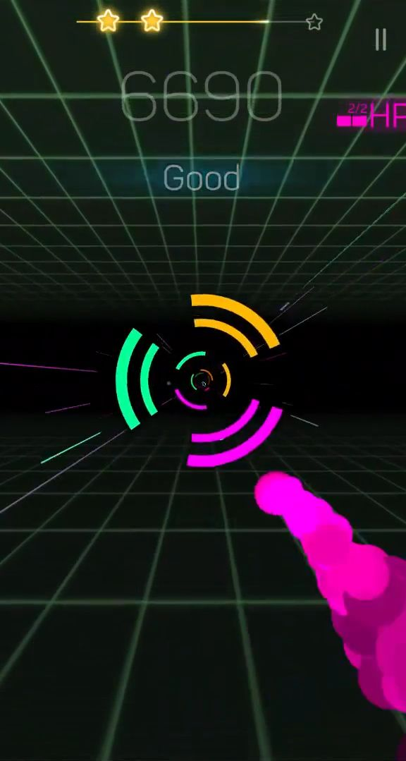Smash Colors 3D - EDM Rush the Circles captura de pantalla 1