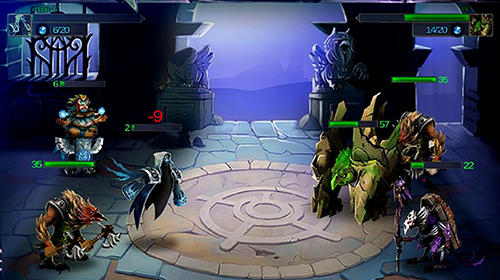 Spirit wars: Online turn-based RPG für Android