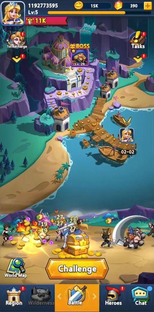 Mega Champions screenshot 1