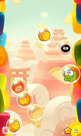 Jogos de bolhas Om Nom: Bubbles em portugues
