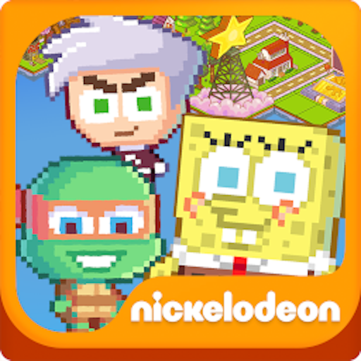 Nickelodeon Pixel Town icône